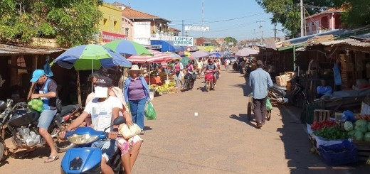 El trabajo es casi normal en el Mercado Municipal