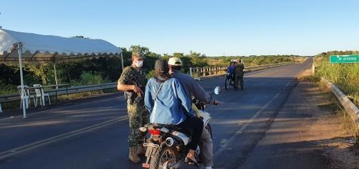 Controles en Paso Otero