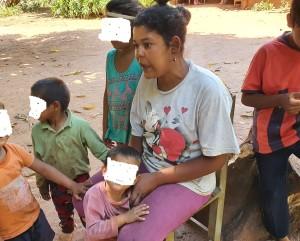 Pobre mujer con 4 hijos pide justicia porque teme por su seguridad