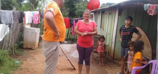 En Loreto hubo manifestación de apoyo a familias muy carenciadas